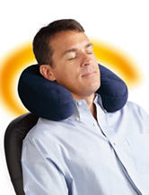 Thermatek™ Heated Travel Neck Pillow