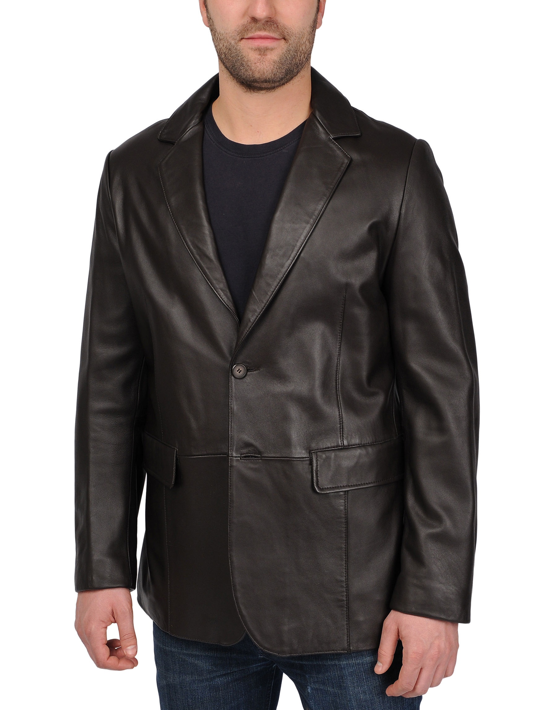 Excelled Black Lightweight Jackets & Blazers