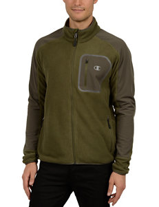 Champion Green Camo Fleece & Soft Shell Jackets