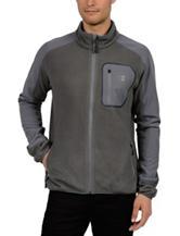 Champion® Big Mock Neck Microfleece Jacket