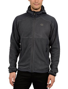 Champion Grey Fleece & Soft Shell Jackets
