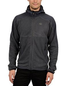 Champion Grey Fleece & Soft Shell Jackets