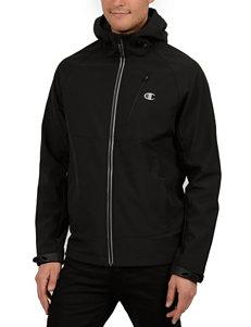 Champion® Hooded Mock Neck Jacket