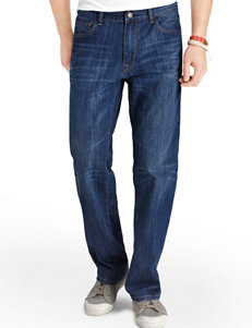 Izod Men's Big & Tall Dark Vintage Relaxed Fit Jeans