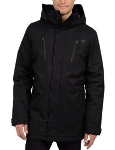 Champion Black Car Coats