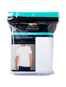 Fruit of the Loom® 3-pk. Tall Crew T-Shirts
