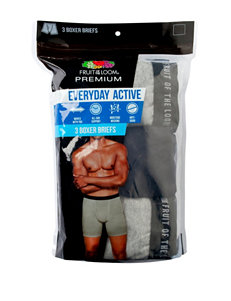 Fruit of the Loom® 3-pk. Everyday Boxer Briefs