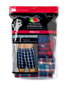 Fruit of the Loom® 3-pk. Big & Tall Boxer Briefs