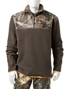 Realtree Brown Pull-overs Sweaters