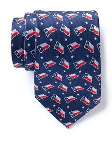 American Lifestyles™ Texas Flag & Stars Tie
