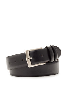 Izod Solid Color Double Keeper Belt