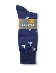 Gold Toe New Navy