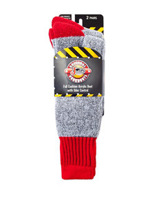 Justin Boots Red Socks