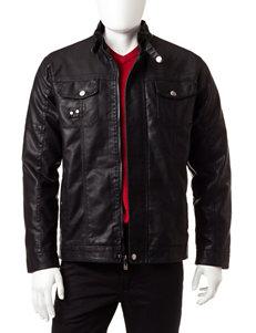 Whispering Smith Black Bomber & Moto Jackets