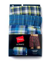 Hanes® 3-pk. Ultimate Tagless Boxers
