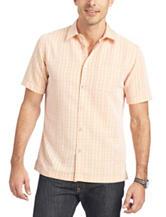 Van Heusen Tattersall Plaid Woven Shirt