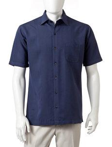 Van Heusen Blue Indigo Casual Button Down Shirts