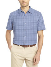 Van Heusen Windowpane Plaid Woven Shirt