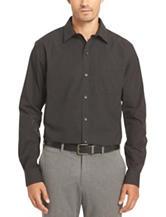 Van Heusen No-Iron Pinstripe Stretch Woven Shirt