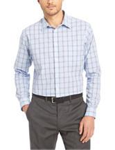 Van Heusen Glen Plaid No-Iron Stretch Woven Shirt