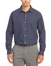 Van Heusen Graph Check No-Iron Stretch Woven Shirt