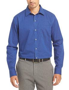 Van Heusen Pinstripe No-Iron Stretch Woven Shirt
