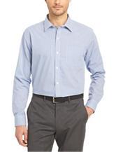 Van Heusen Mini Check No-Iron Stretch Woven Shirt