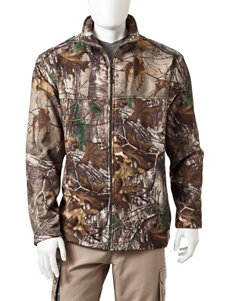 Realtree Brown Fleece & Soft Shell Jackets