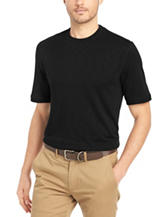 Van Heusen Solid Color Knit Shirt