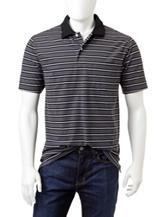 Sun River Jersey Striped Oxford Polo Shirt
