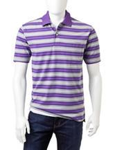 Sun River Jersey Striped Polo Shirt