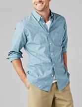 Dockers® Woven Shepherd's Check Sport Shirt