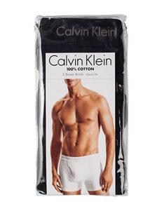 Calvin Klein 3-pk. Black Boxer Briefs