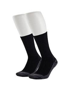 Justin® 2-pk. Black Jow Crew Socks