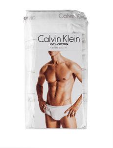 Calvin Klein White Briefs
