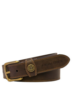 Realtree Men's Brown Shotgun Shell Belt