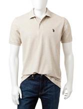 U.S. Polo Assn. Solid Color Pique Polo Shirt