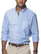 Chaps® Mini Stripes & Checks Woven Shirt