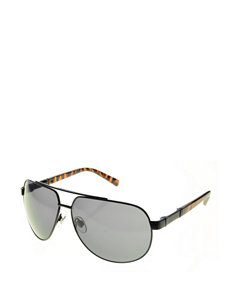 Dockers Rounded Tortoiseshell Aviator Sunglasses