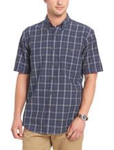 Arrow Windowpane Textured Sport Shirt