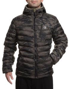 Champion® Camo Print Featherweight Insulated Jacket