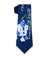 Star Wars C3PO R2-D2 Tie