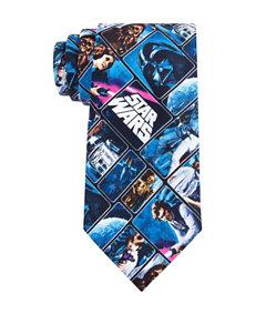Star Wars Vintage Poster Tie