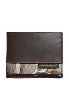 Realtree Brown Camo Bi-fold Wallets