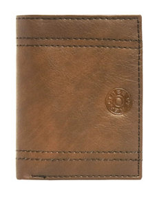 Realtree Brown Trifold Embossed Wallet