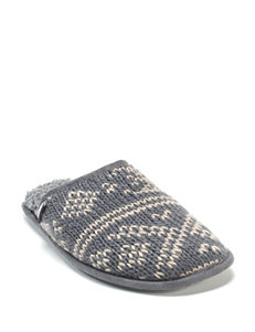 Muk Luks Men's Gavin Gray Slippers