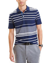 Nautica Engineered Striped Polo Shirt