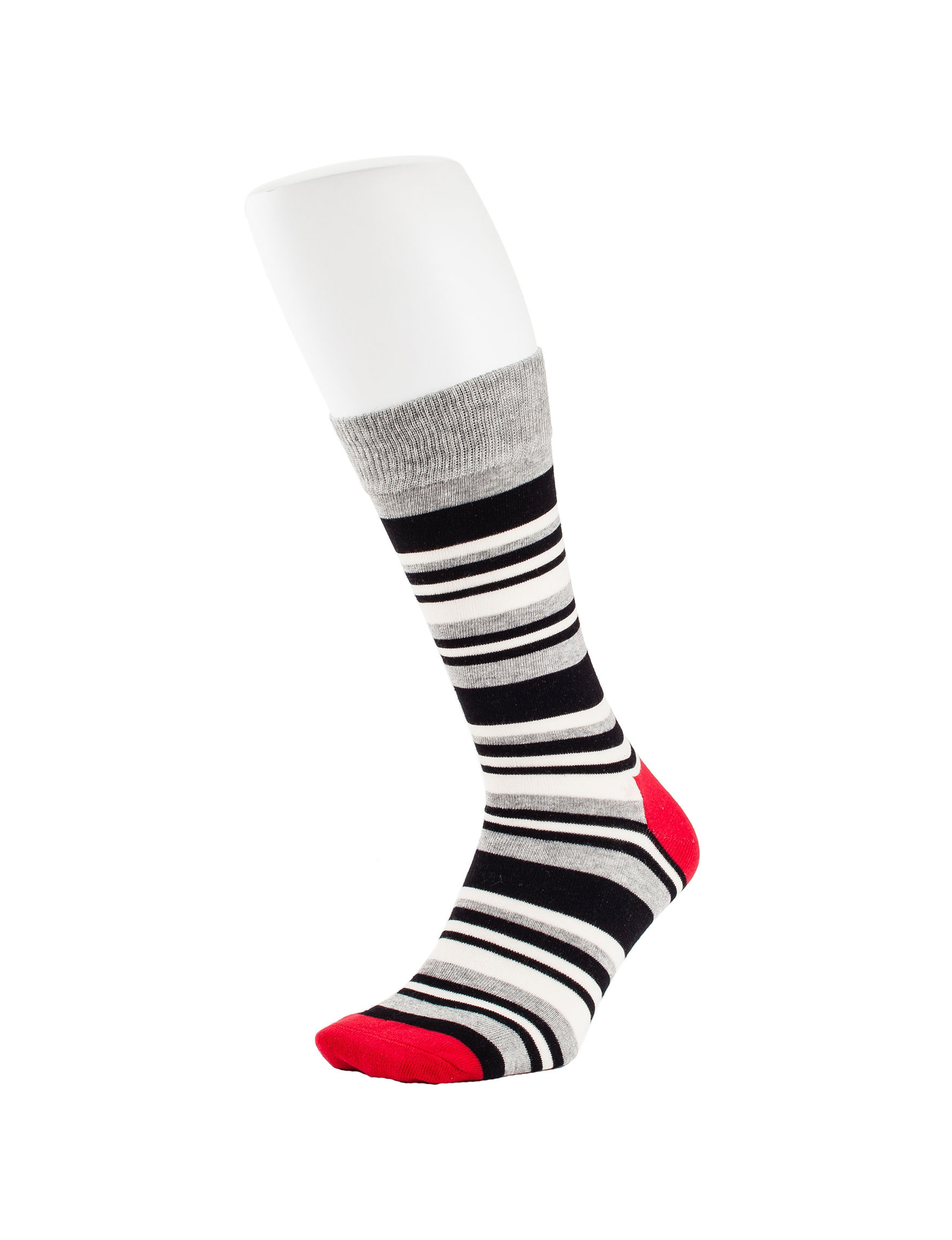 HS by Happy Socks Black /  White Socks