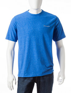Columbia Super Blue Heather Tees & Tanks