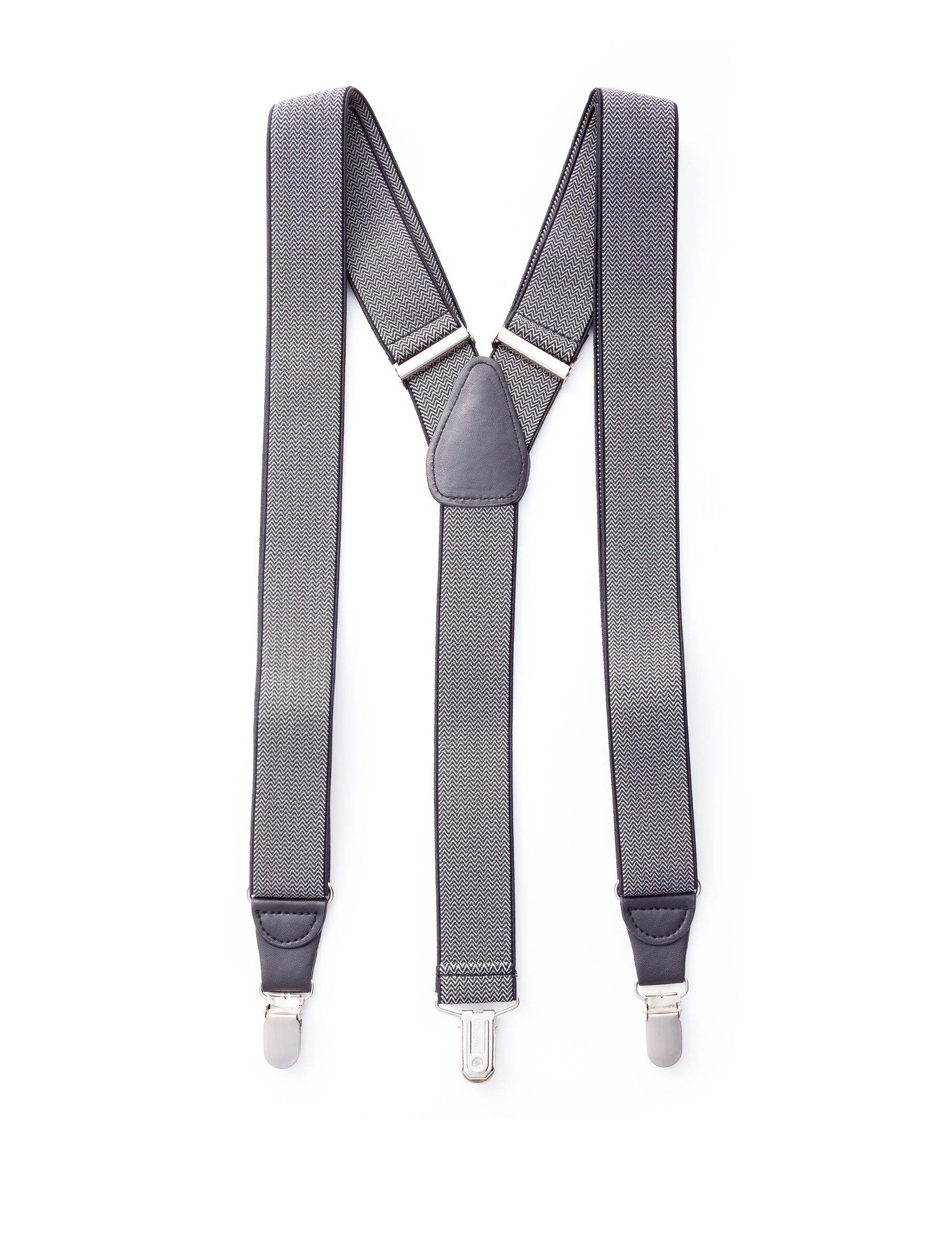 Ivy Crew Black Suspenders